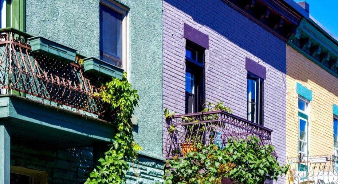 Maisons du Plateau à Montréal