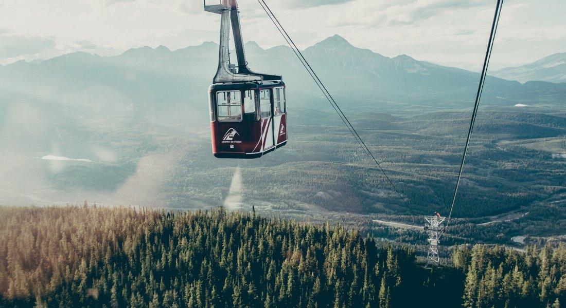 Rando au sommet du mont The Whistlers en Alberta