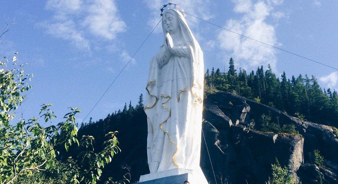 Sentier la Statue dans le parc national du Fjord-du-Saguenay