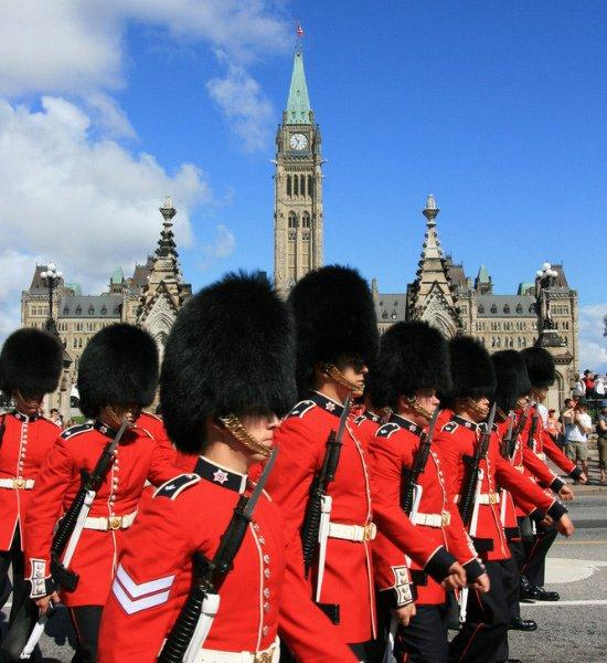 Cérémonie de la Relève de la garde à Ottawa
