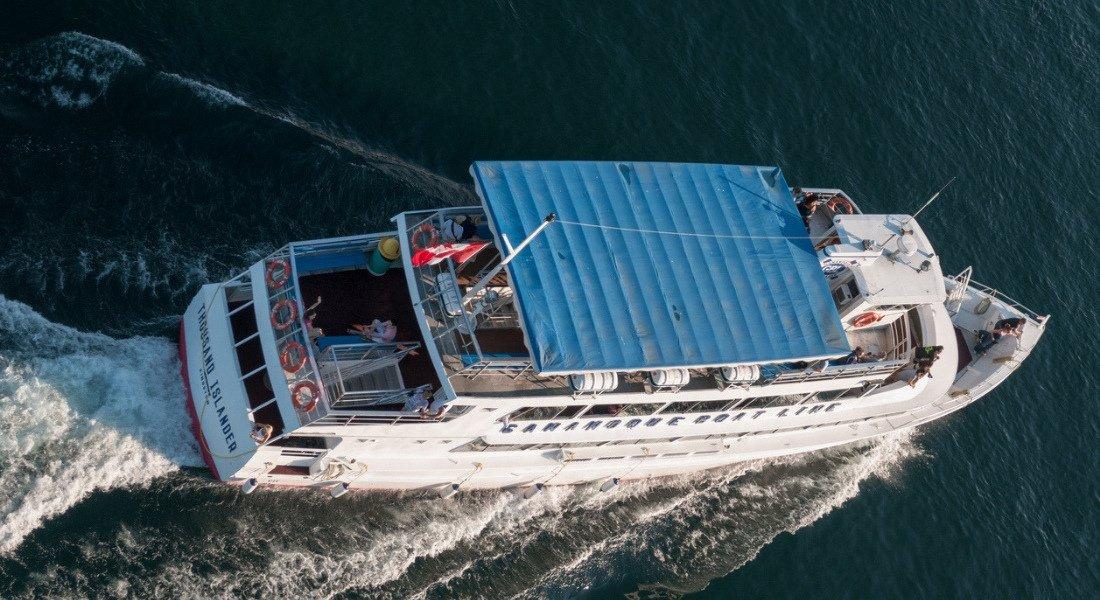 Bateau de croisière dans les Mille-Îles