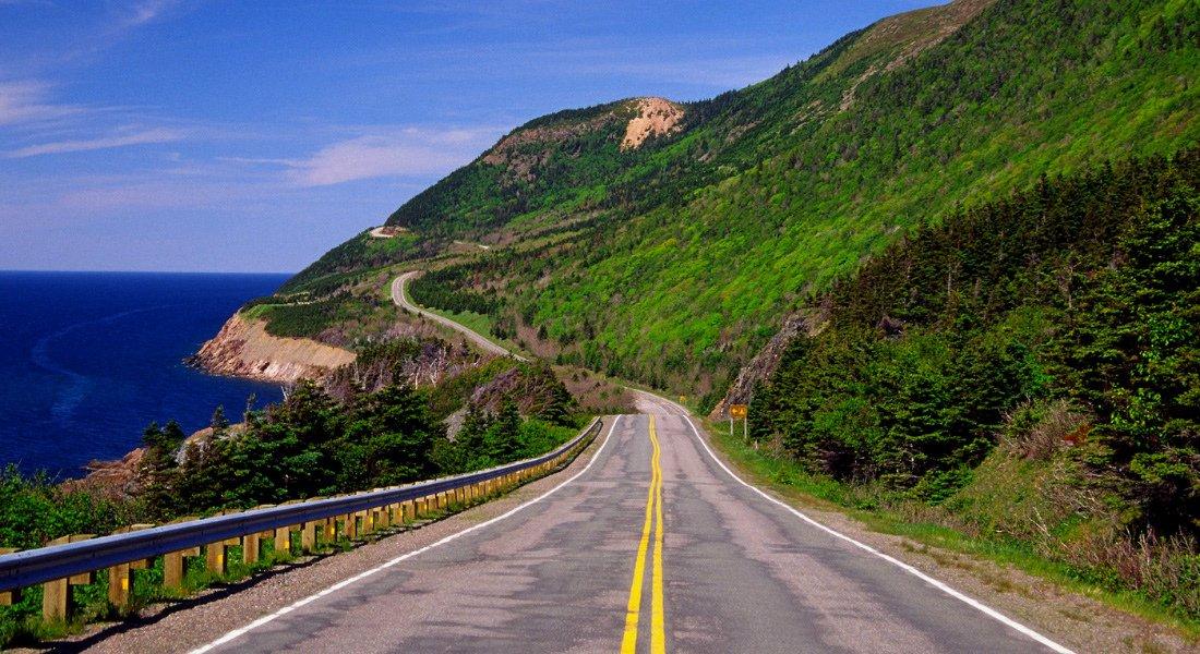 Cabot Trail scenic route, Cape Breton