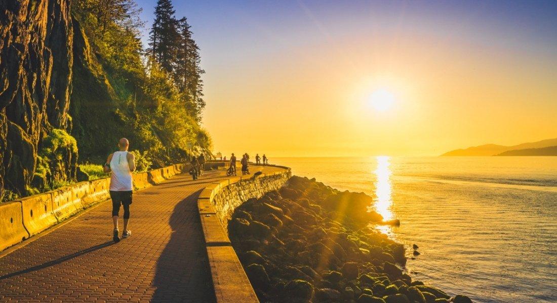 Seawall parc Stanley de Vancouver