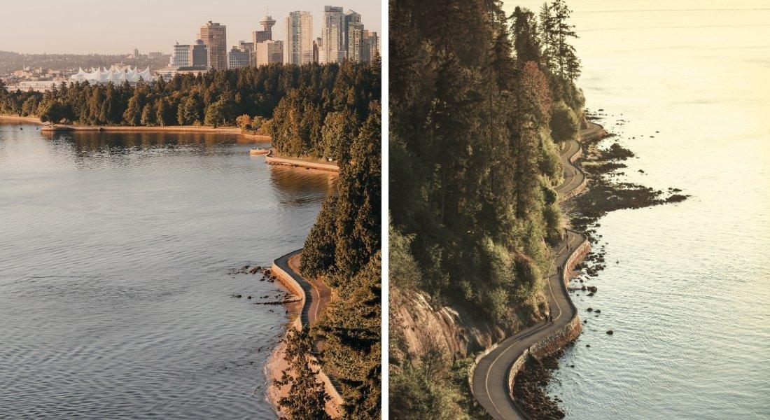 randonnée à Vancouver