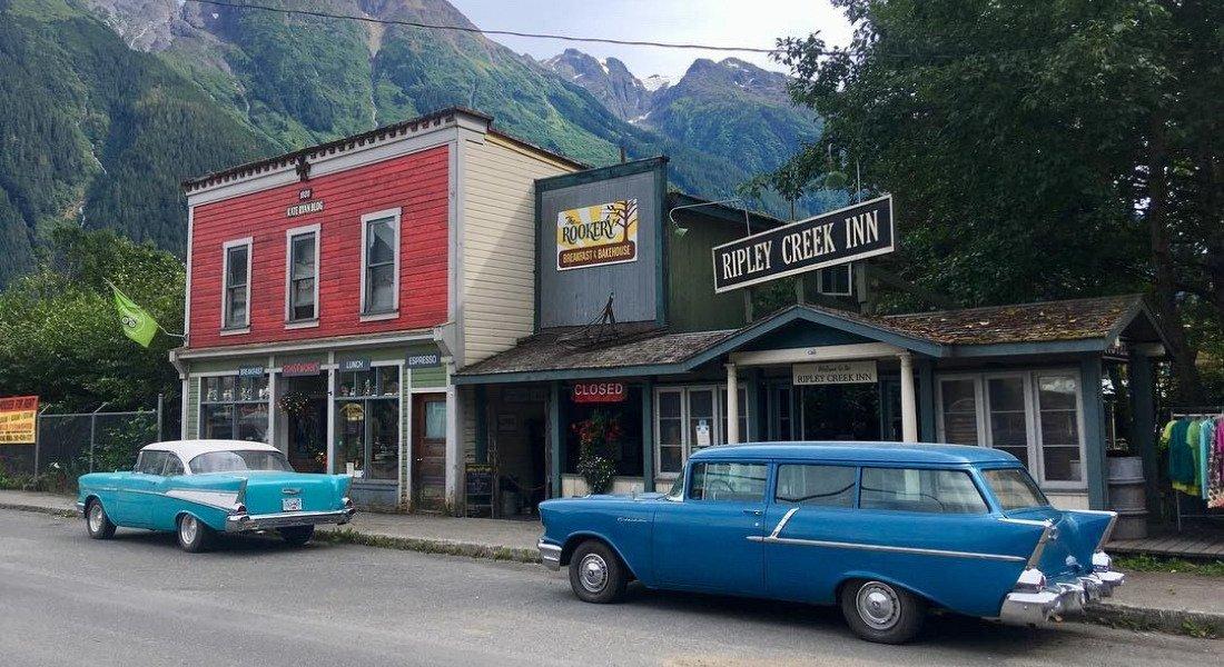 Village de Stewart en Colombie-Britannique