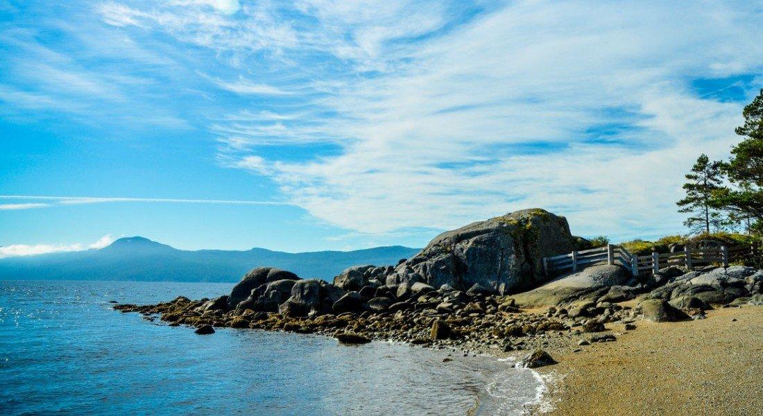 Willingdon Beach sur la Sunshine Coast