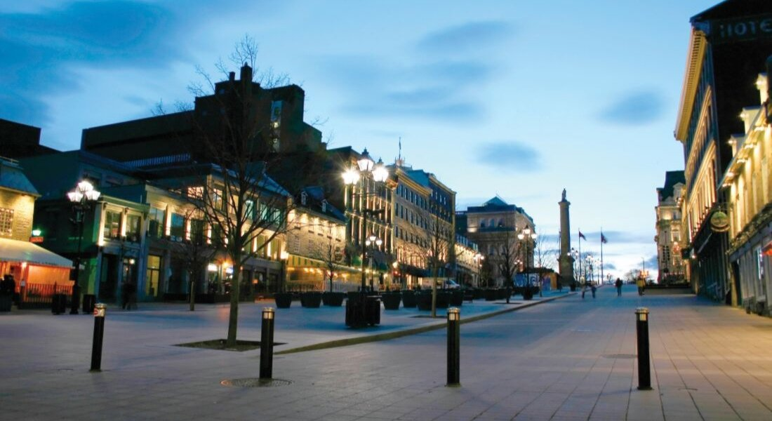Place Jacques-Cartier à Montréal