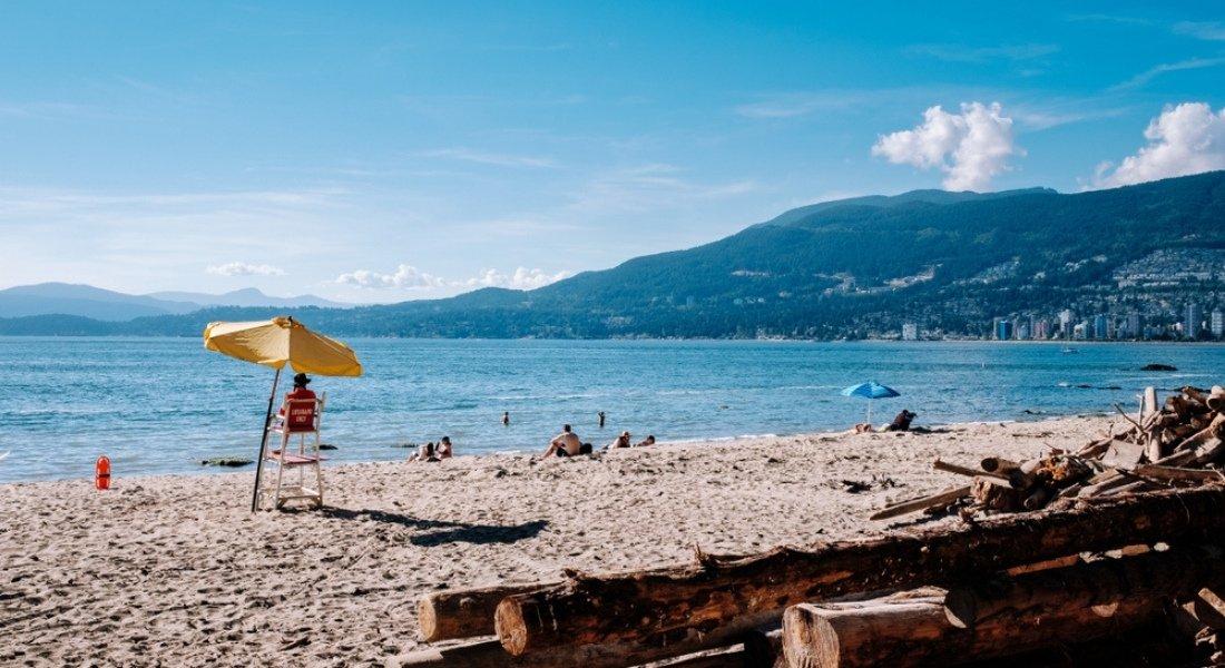 Plage près de Vancouver