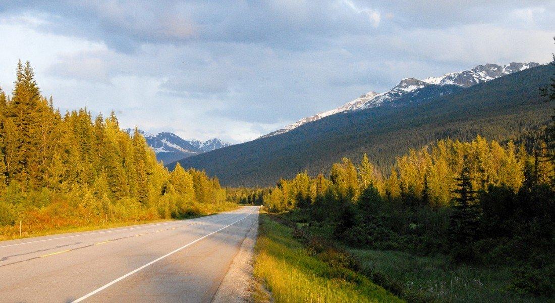 Yellowhead Highway Robson Provincial Park