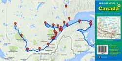 Carte routière du Canada