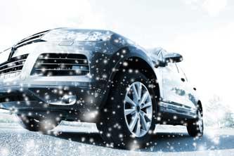 Conduire une voiture en hiver