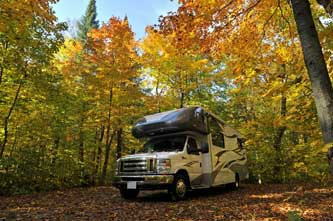 When is the best time for RV road trip in Canada?