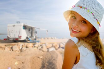 RV travel with children in Canada