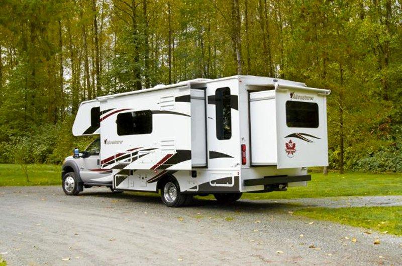 Adventurer 4 Motorhome Rental In Canada With Fraserway
