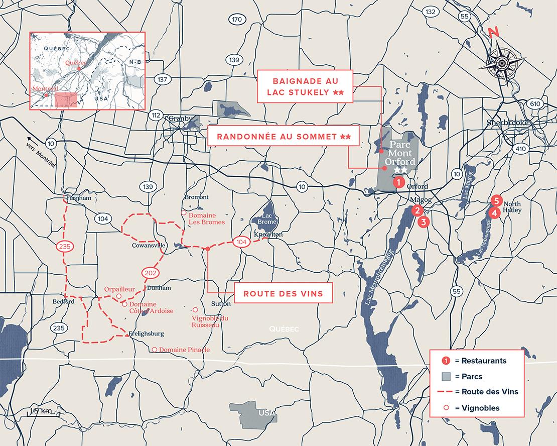 Route des vins des Cantons-de-l'Est