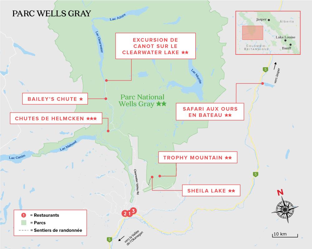 Parc National Wells Gray, Colombie-Britannique