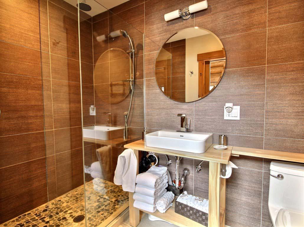 Salle de bain Chalet Abénaki