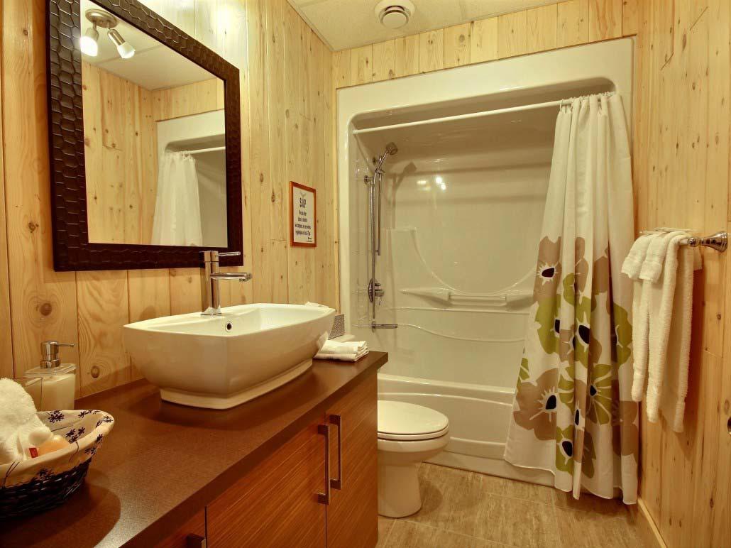 Salle de bain-2 Chalet L'Aigle Royal