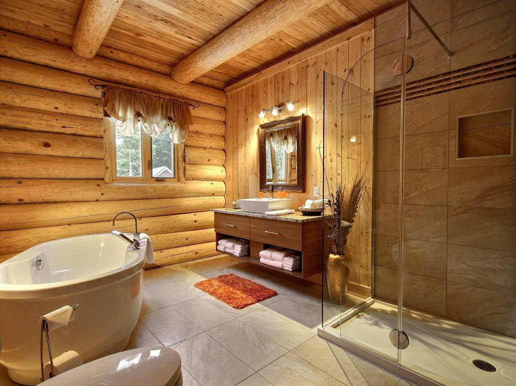 Salle de bain Chalet L'Aigle Royal