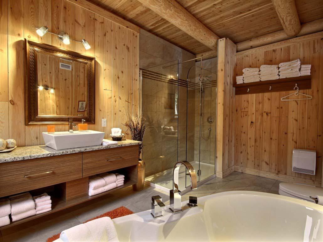 Salle de bain-1 Chalet L'Aigle Royal