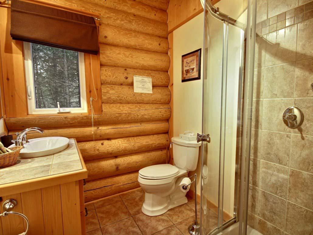 Salle de bain Chalet Aurore-Boréale