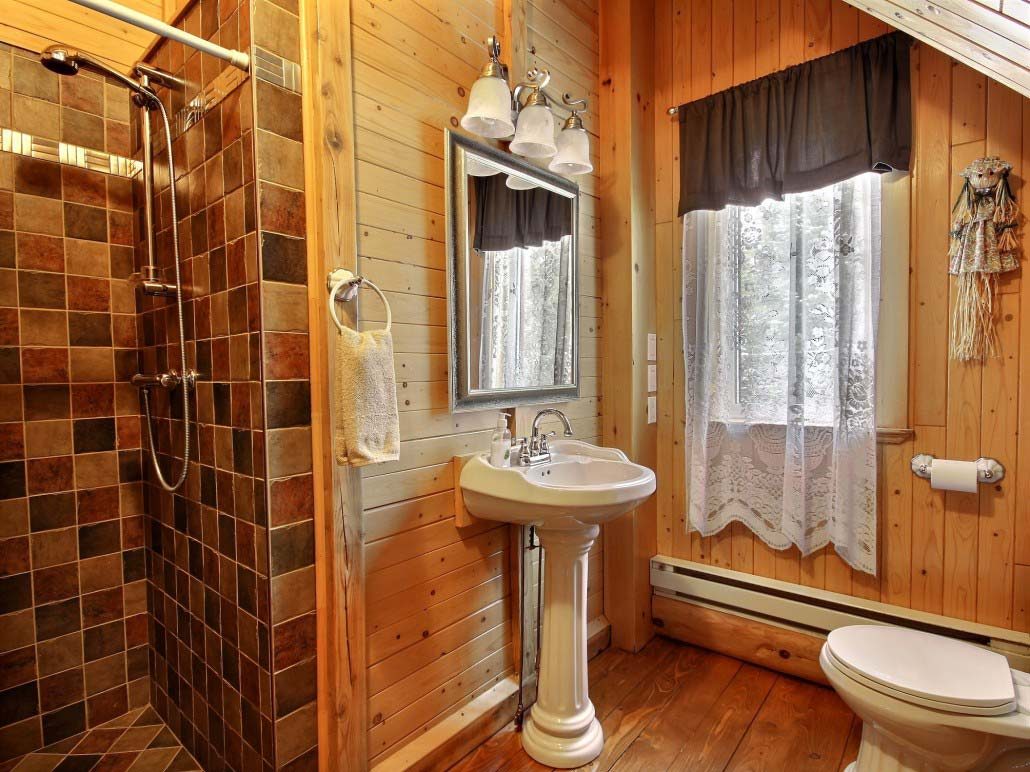 Salle de bain Chalet Balbuzard