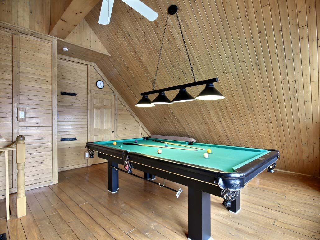 Table de billard Chalet Balbuzard