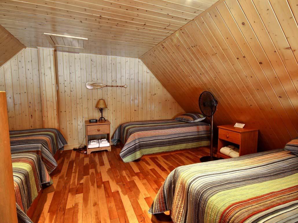 Chambre Mezzanine Chalet Le Bercail