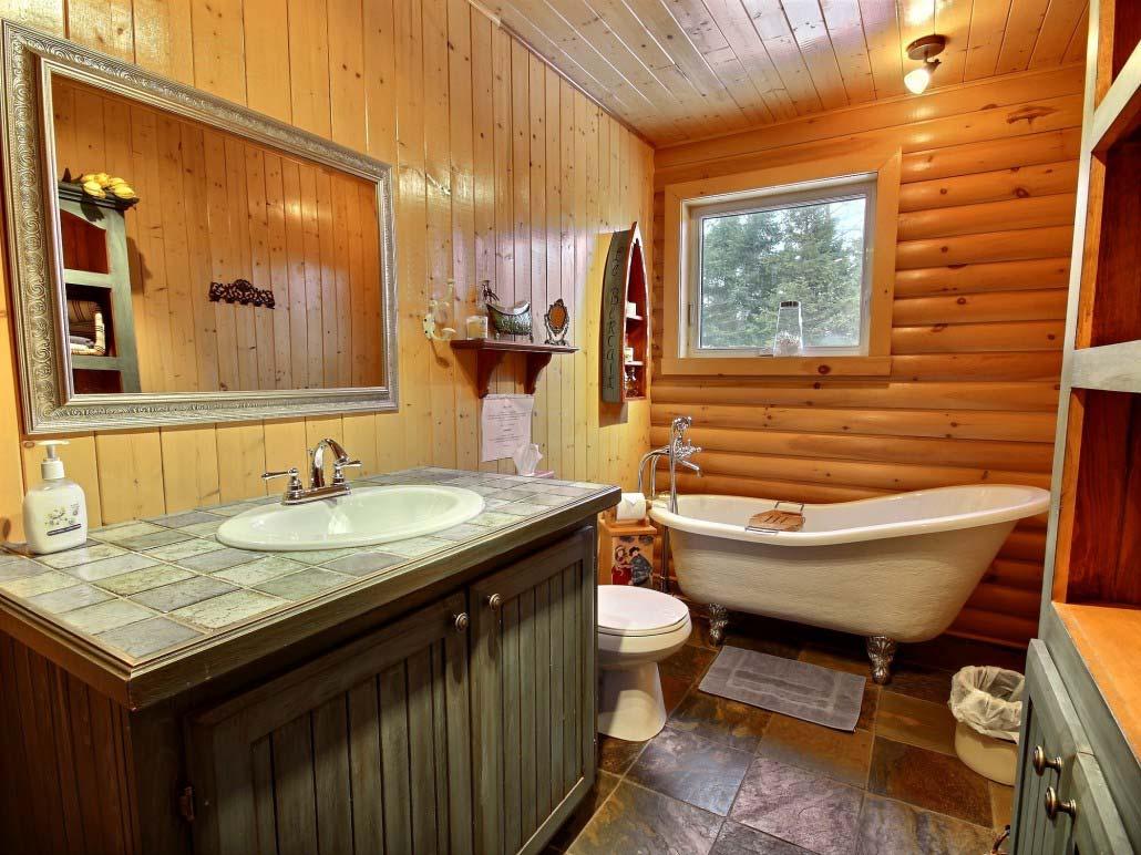 Salle de bain Chalet Le Bercail