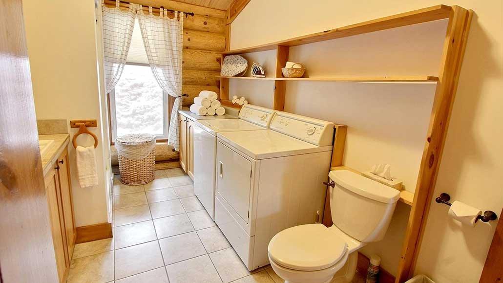 Salle de laveuse-secheuse