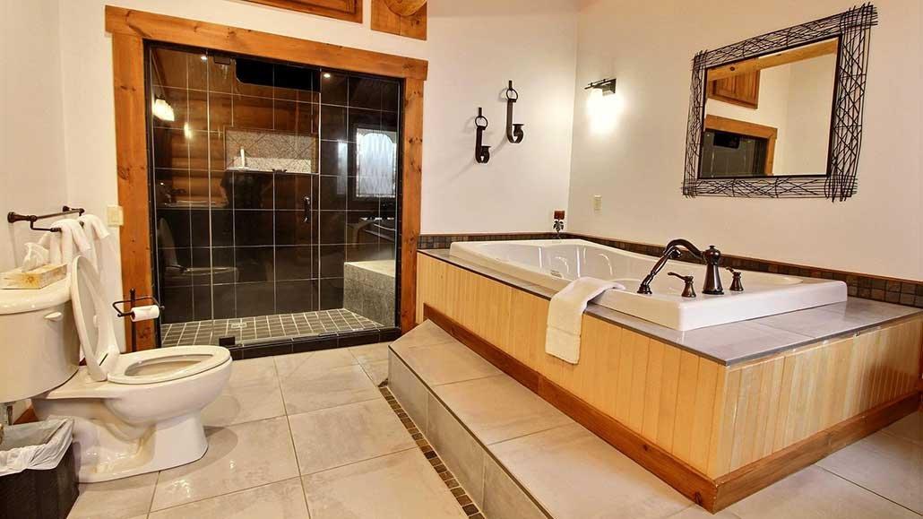Salle de bain Chalet Bernache