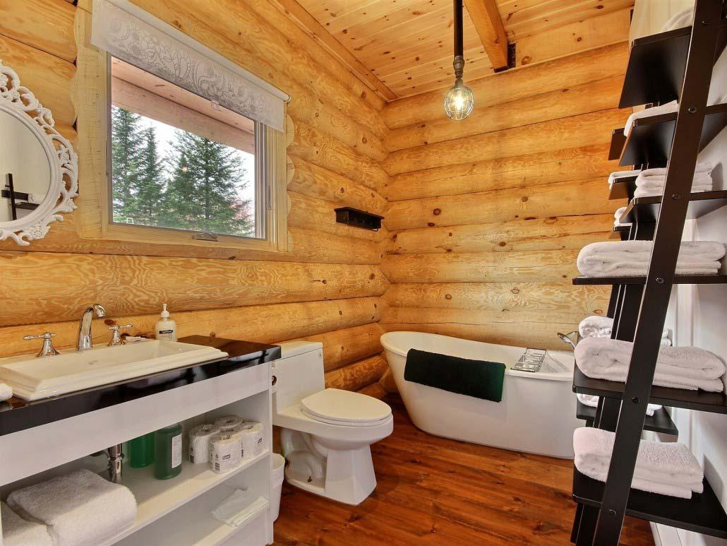 Salle de bain Chalet Le Calumet