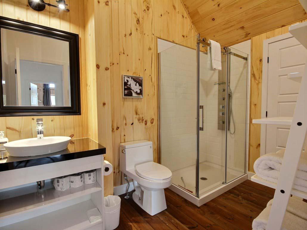 Salle de bain-2 Chalet Le Calumet