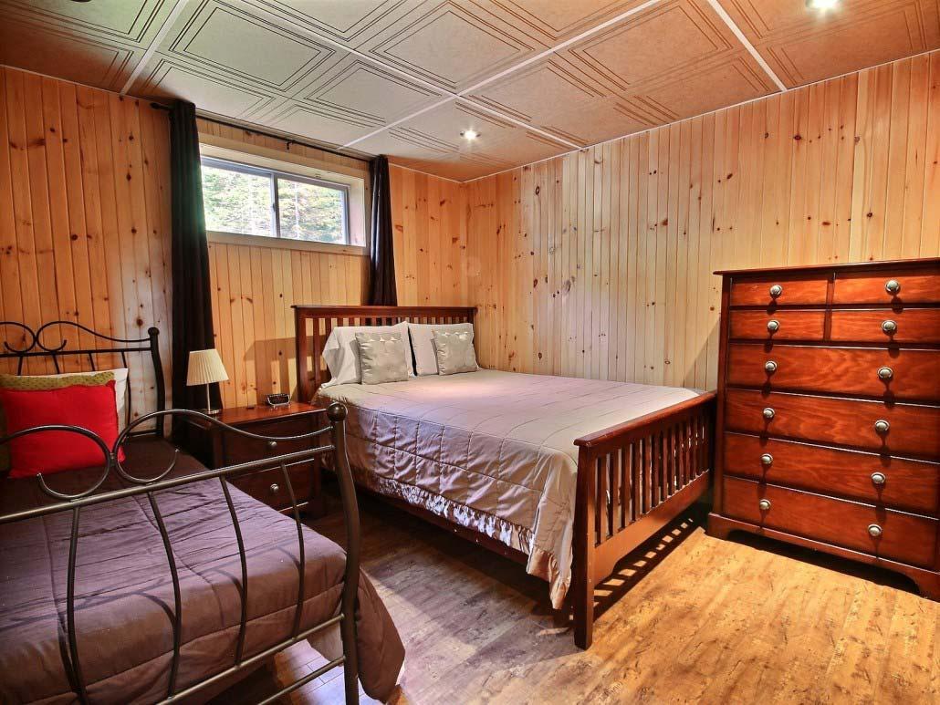 Chambre-2 Chalet Carcajou