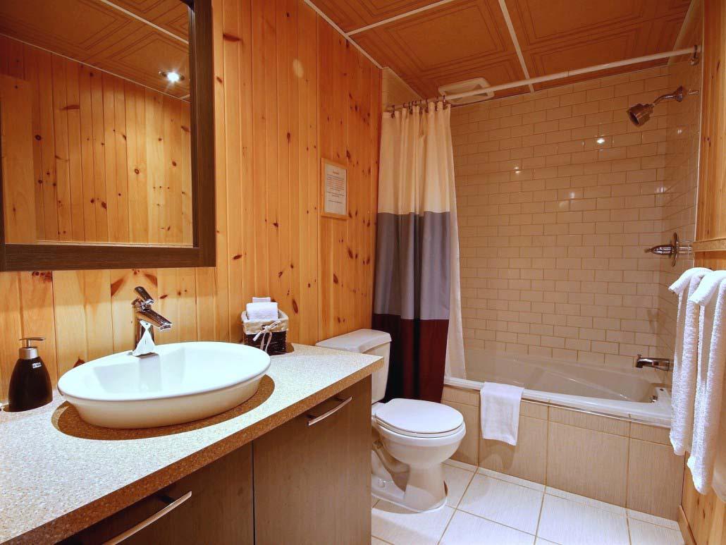 Salle de bain Chalet Carcajou