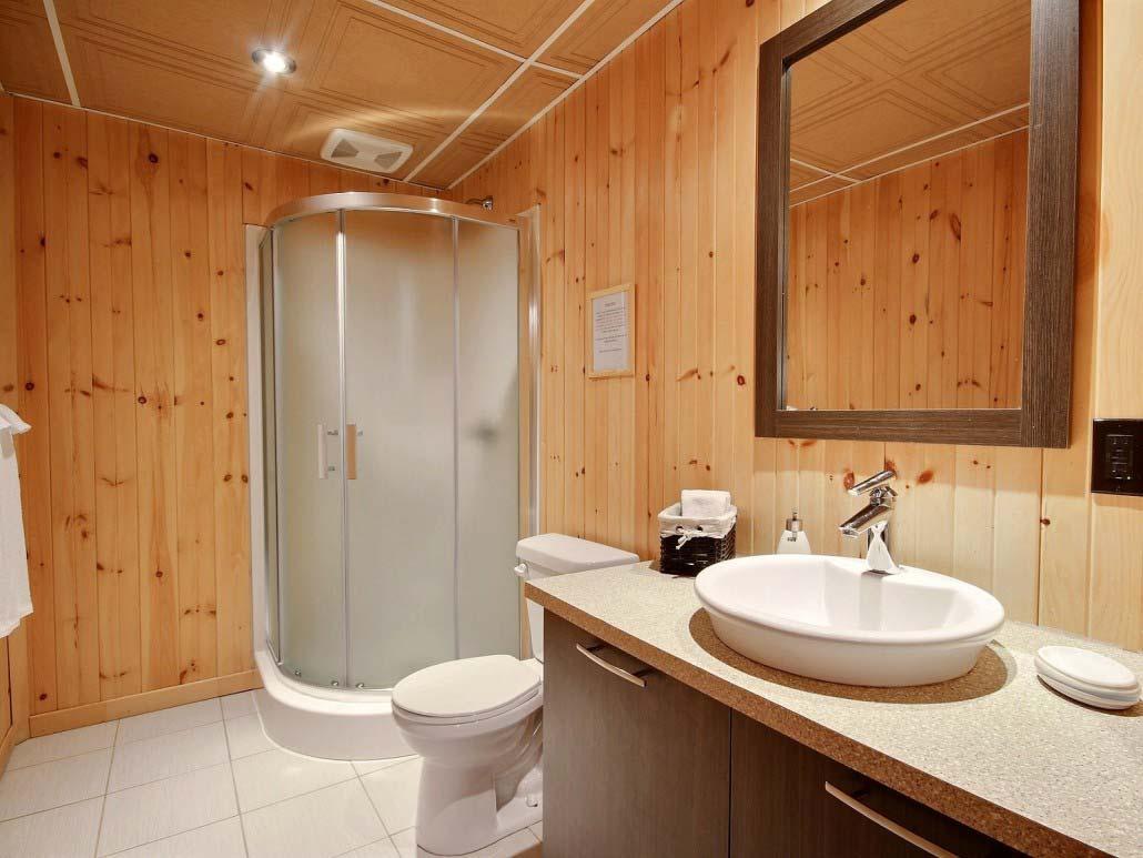 Salle de bain-1 Chalet Carcajou