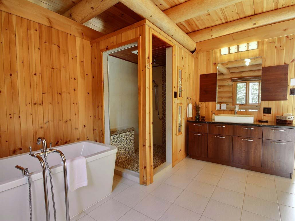 Salle de bain-3 Chalet Carcajou
