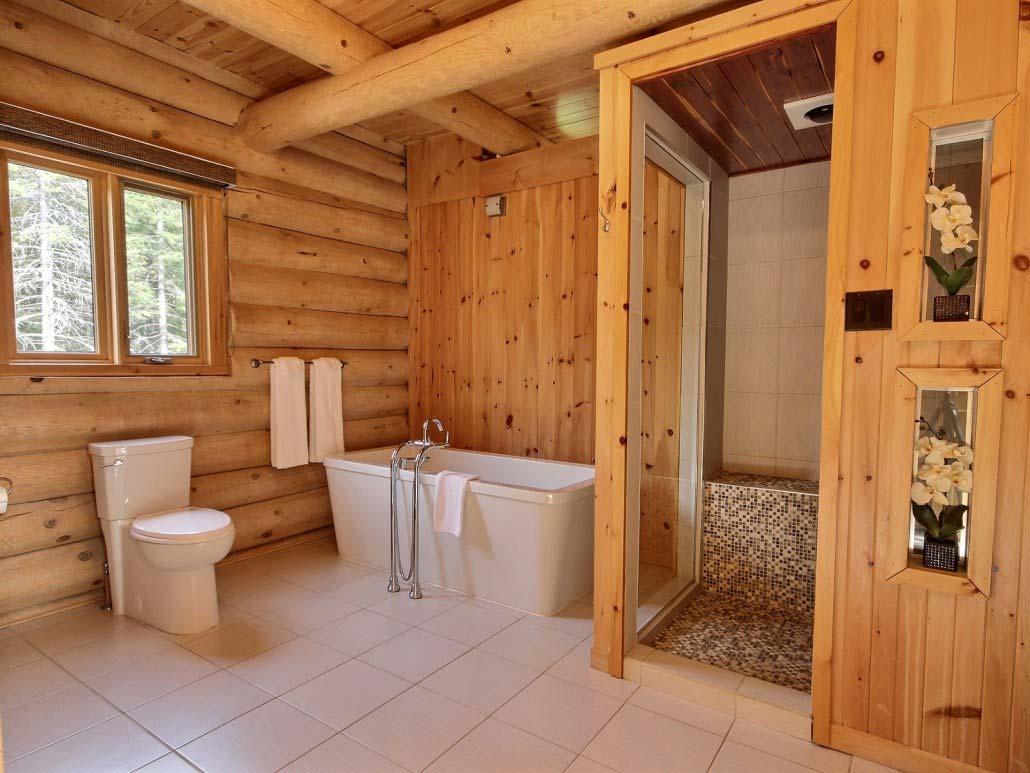 Salle de bain-4 Chalet Carcajou