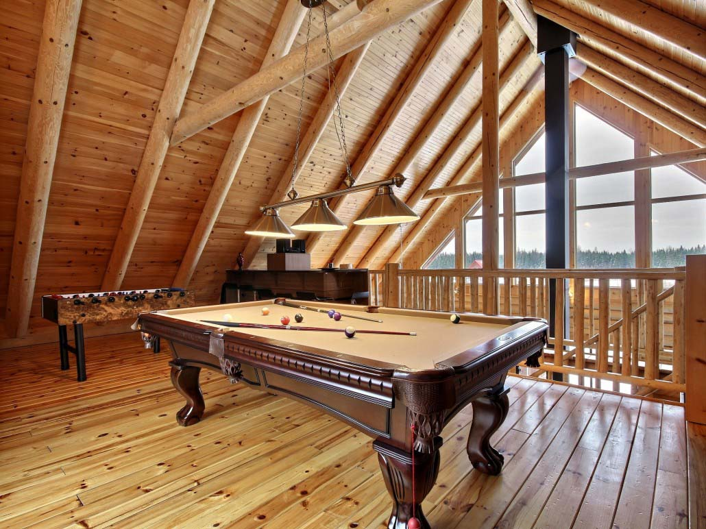 Table de billard Chalet Carcajou