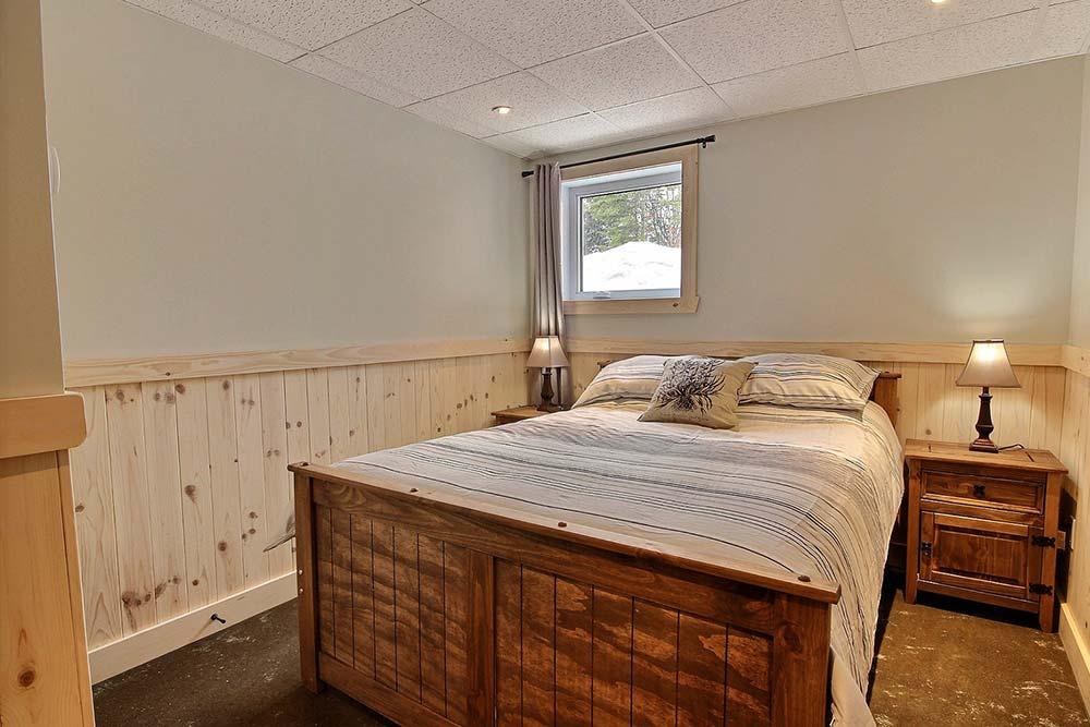 Chambre à coucher Chalet Draveur