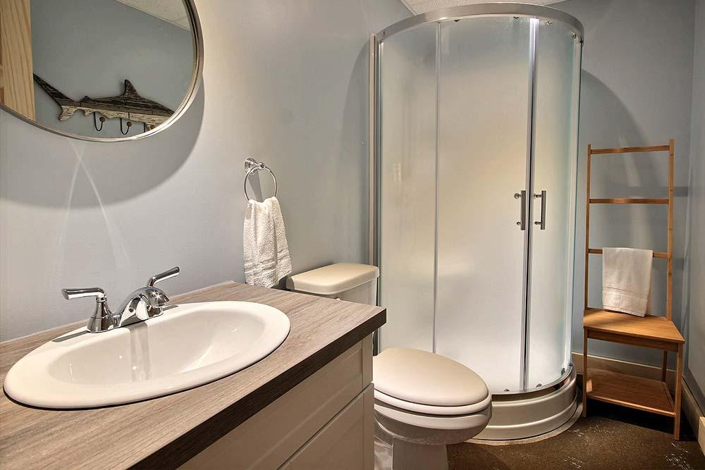 Salle de bain-2 Chalet Draveur
