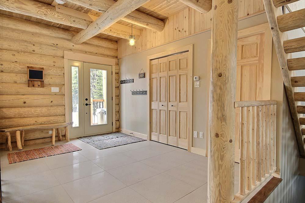 Hall d'entrée Chalet Draveur