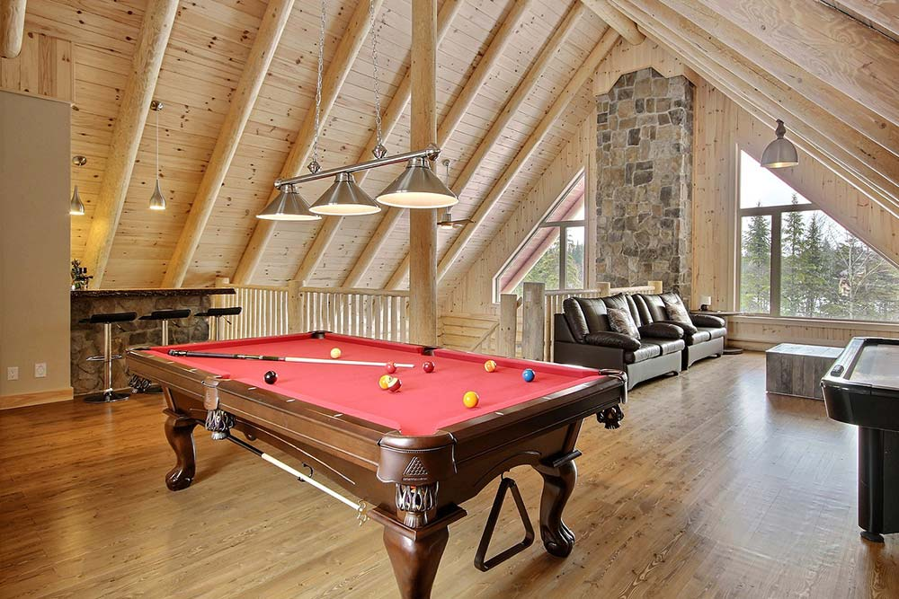 Table de billard Chalet Draveur