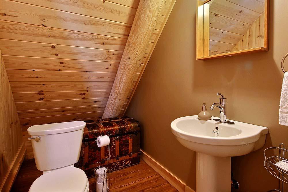 Salle de bain-3 Chalet Draveur
