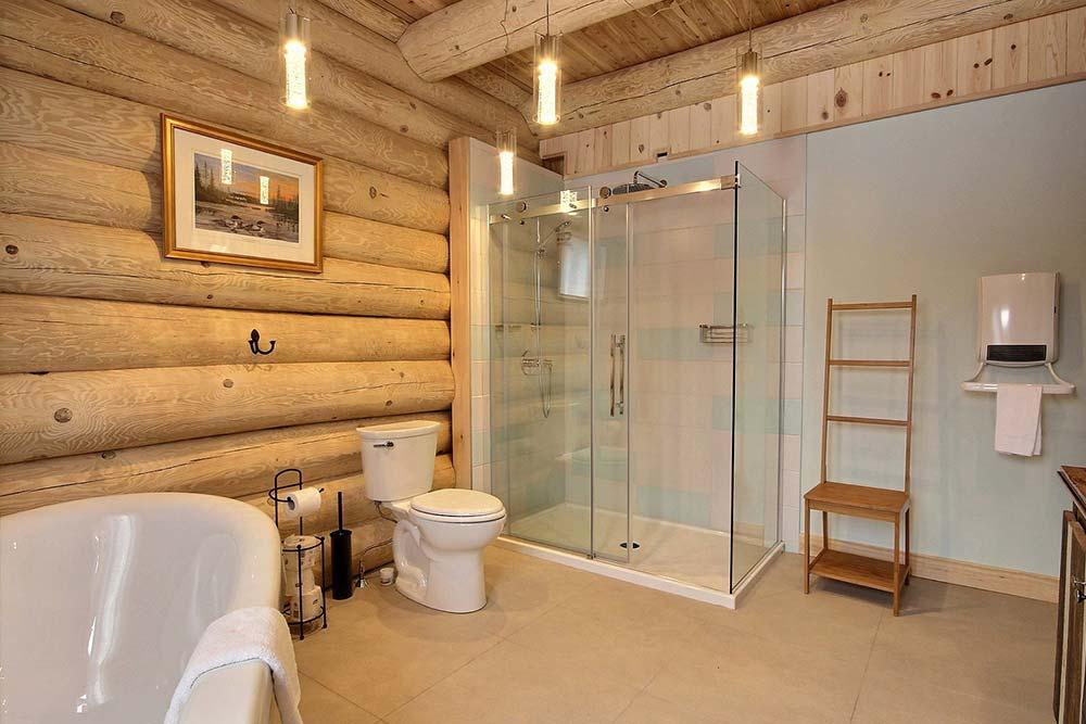 Salle de bain-1 Chalet Draveur
