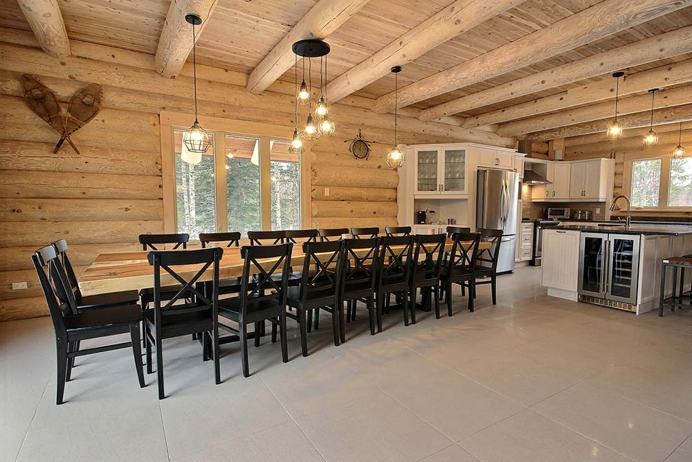 Grande table Chalet Draveur