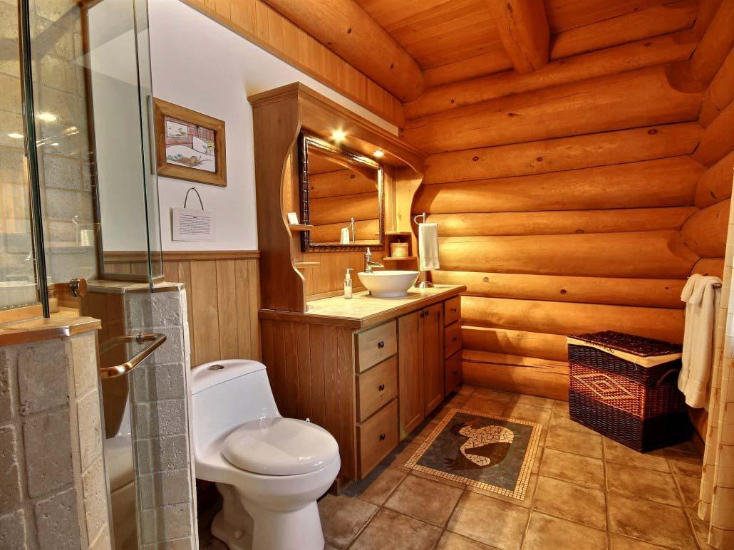 Salle de bain Chalet l'Eider