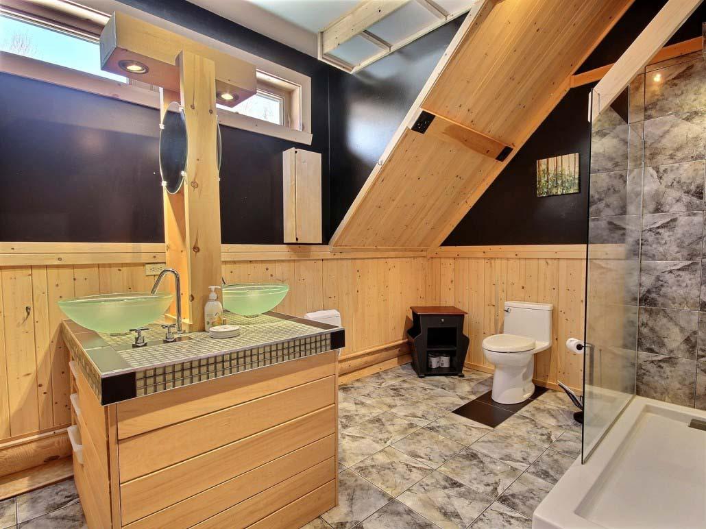 Salle de bain Chalet Forestier