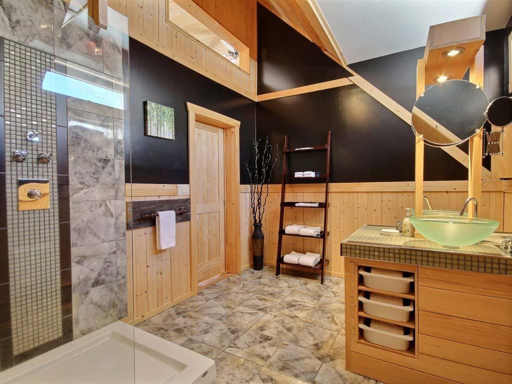 Salle de bain-1 Chalet Forestier