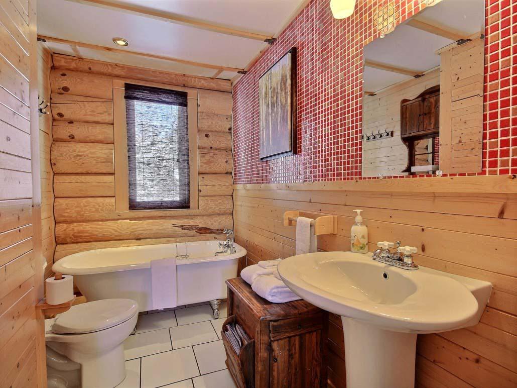 Salle de bain-3 Chalet Forestier